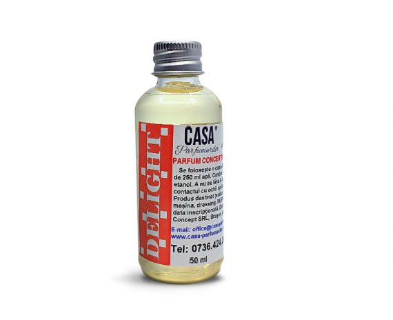 Odorizant concentrat Delight pentru țesături și ambient ml